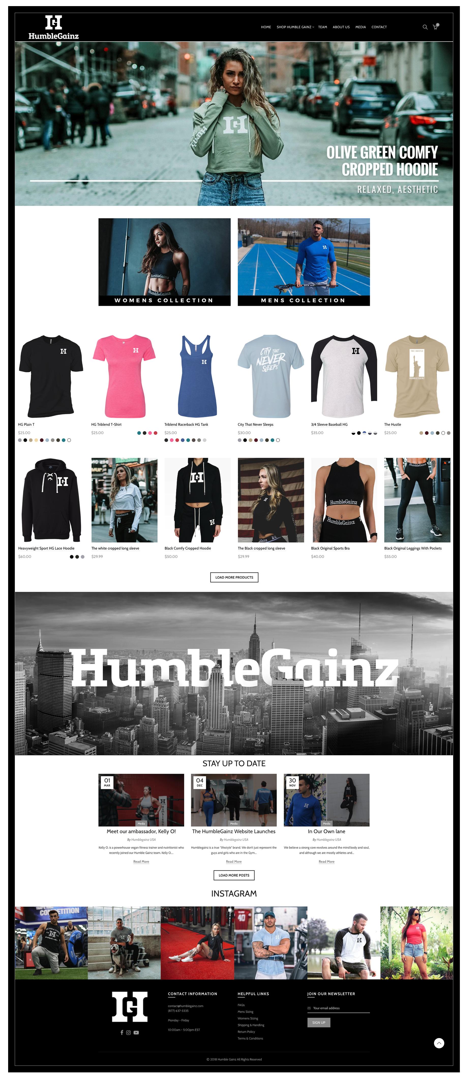 Humble-gainz-website