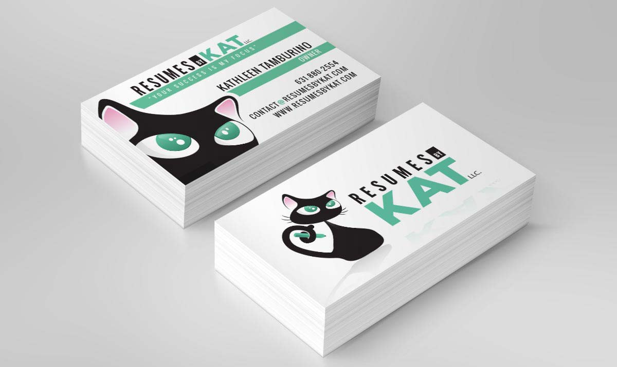 resumes-by-kat-business-card-design