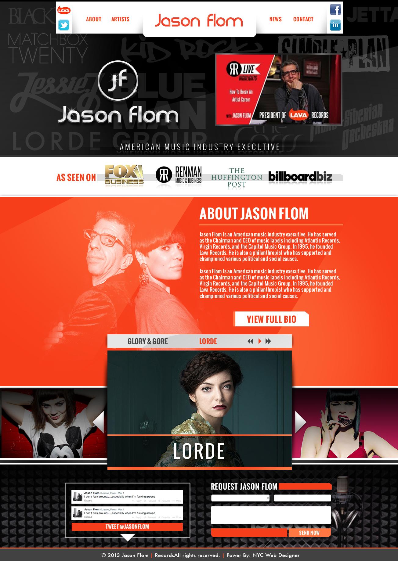 Jason Flom – Lava Records